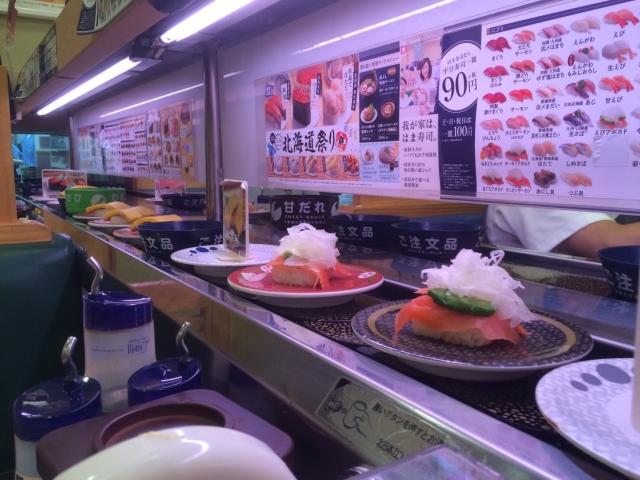 回転寿司のバイトの評判