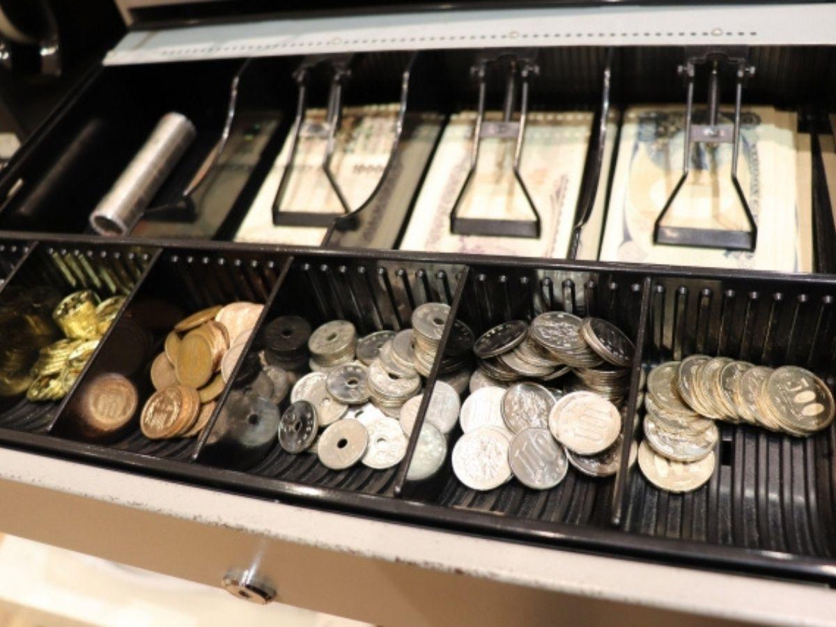 レジのお金